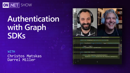 Authentication with Graph SDKs