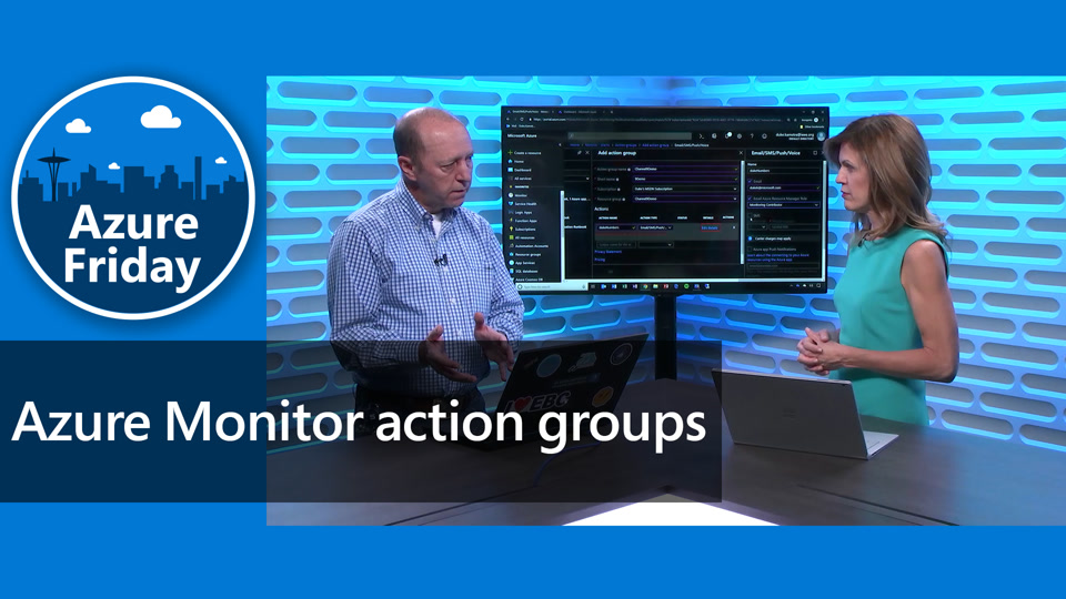 Azure Monitor action groups