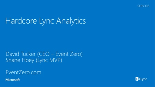 Hardcore Lync Analytics