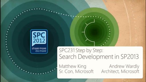 Step by Step: Search Development in SharePoint 2013