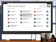 Office 365 API Tools for Visual Studio - Users and Files