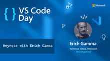 VS Code an overnight success...10 years in the making with Erich Gamma
