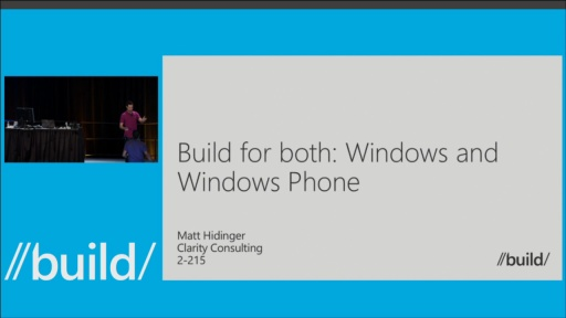 Real Talk: Sharing Code Between the Windows & Windows Phone Platforms
