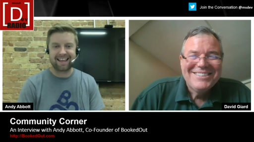 Community Corner: An Interview with Andy Abbott from BookedOut