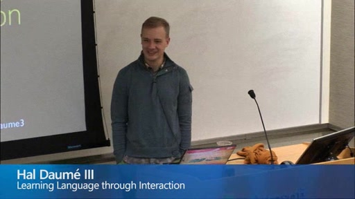 Learning Language through Interaction