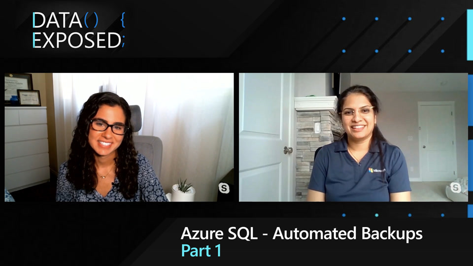 Azure SQL - Automated Backups (Part 1)