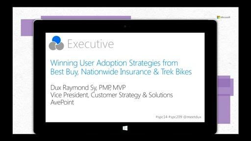 Showcase: Winning User Adoption Strategies from Best Buy, Nationwide Insurance & Trek Bikes