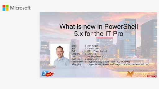 New Features of PowerShell 5