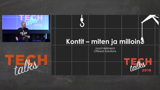 Tech Talks 2016 Dell EMC Stage Windows Kontit Miten ja Milloin