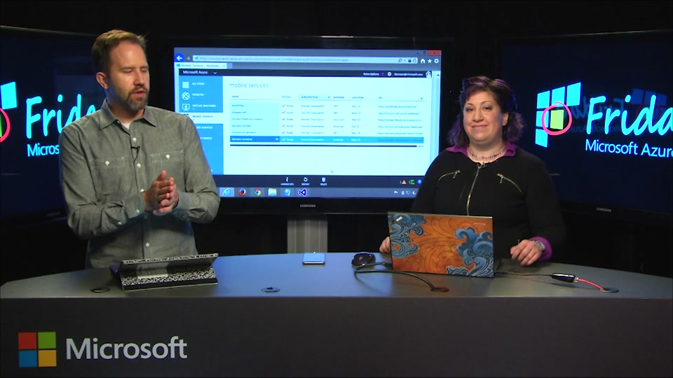 .NET Backend on Azure Mobile Services with Donna Malayeri