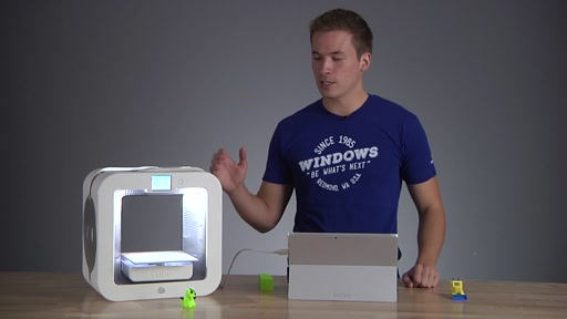 3D Printing with Multiple Materials using Windows 10 and 3D Builder