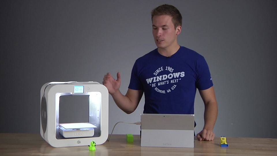 3d Printing With Multiple Materials Using Windows 10 And