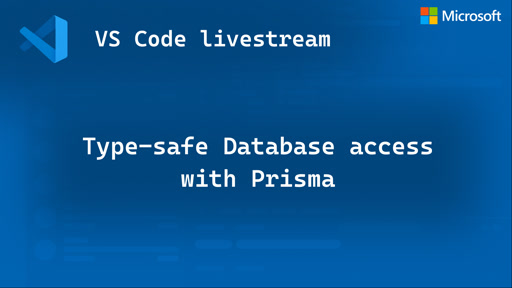 Type-safe Database access with Prisma