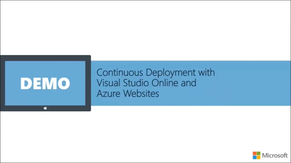 Azure DevOps with Visual Studio Online (Part 3) Continous Deployment with Azure Websites