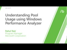 Understanding pool usage using Windows Performance Analyzer