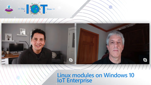 Linux modules on Windows 10 IoT Enterprise