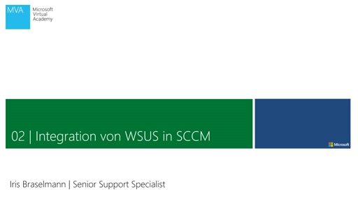 03| Integration von WSUS in SCCM