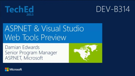 Microsoft ASP.NET, Web, and Cloud Tools Preview