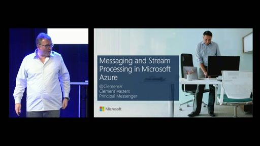 Messaging and Stream Handling in Microsoft Azure