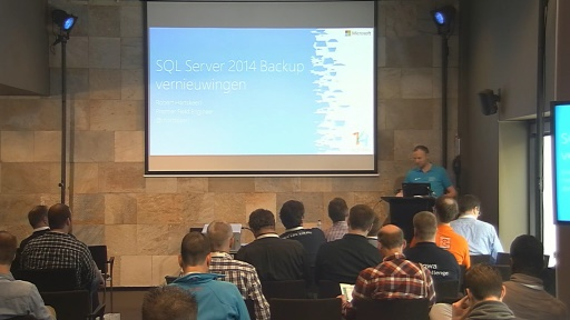 Backup vernieuwingen in SQL Server 2014