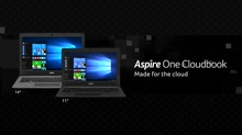 Acer: Built for the Cloud - The Aspire One Cloudbook