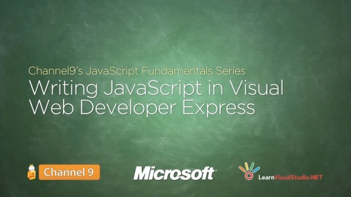 Writing JavaScript in Visual Web Developer Express Edition - 04