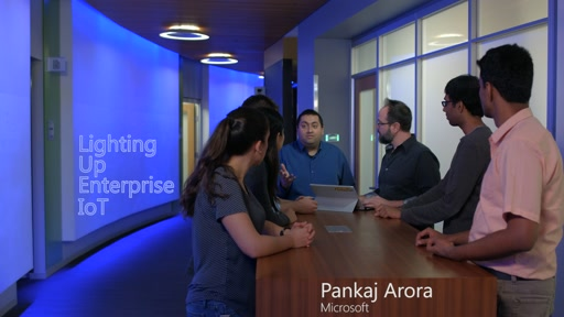 Internet of Things: Lighting up modern workspaces