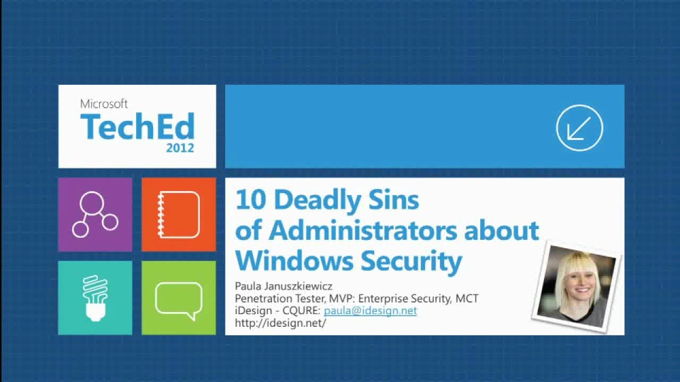 Ten Deadly Sins of Administrators about Windows Security