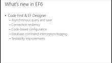 Building Modern Web Apps: (05) Entity Framework