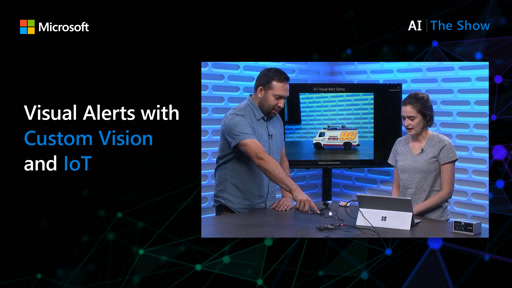 Visual Alerts with Custom Vision and IoT