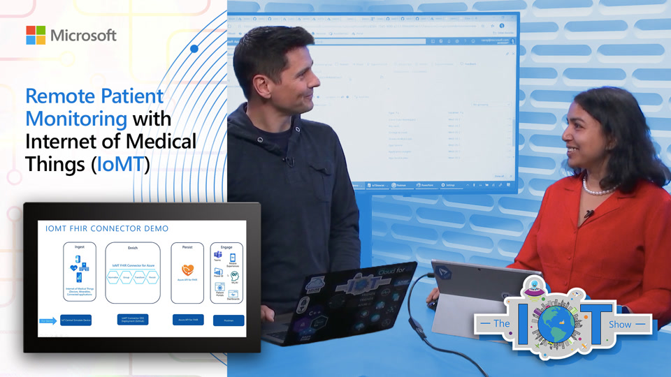 Remote Patient Monitoring with Internet of Medical Things (IoMT)