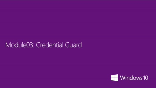 03| Credential Guard