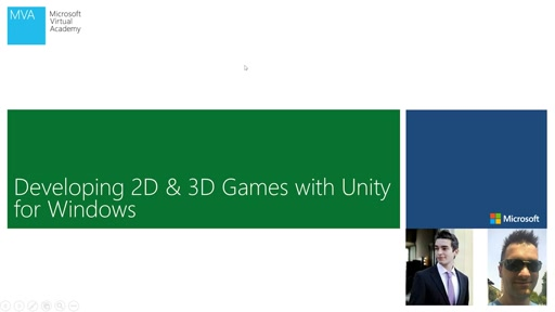 02 - MVA - Developing 2D & 3D Games with Unity3D for Windows - 2D Game Development