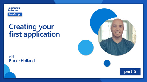 Creating your first application [6 of 51]