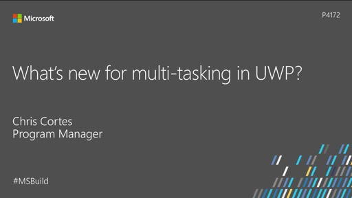What's new for multi-tasking in UWP?