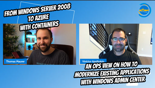 OPS113 - From WS2008 to Azure with containers
