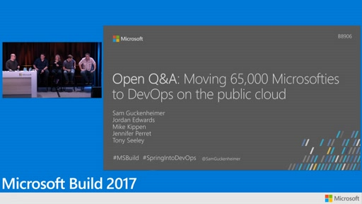 Open Q&A: Moving 65,000 Microsofties to DevOps on the public cloud