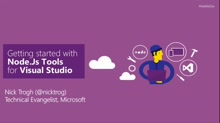 Getting started with Node.js Tools for Visual Studio