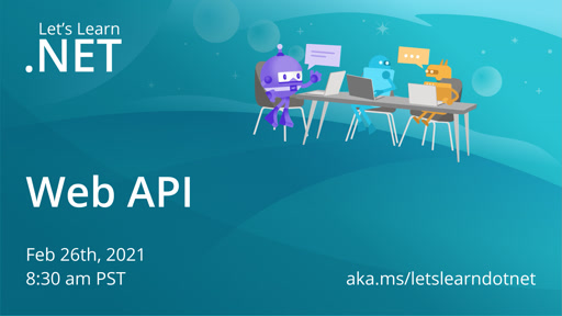 Let's Learn .NET: Web APIs