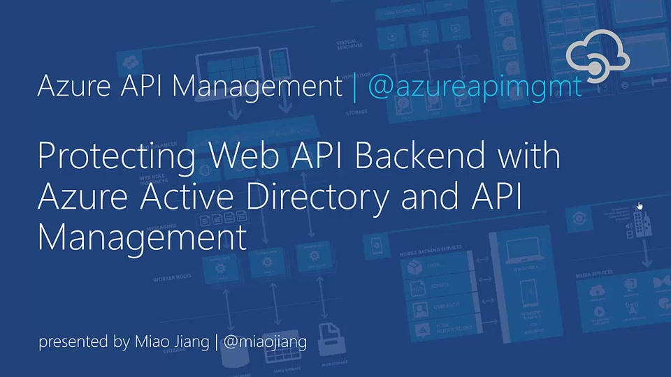 Protecting Web API Backend with Azure Active Directory and API Management