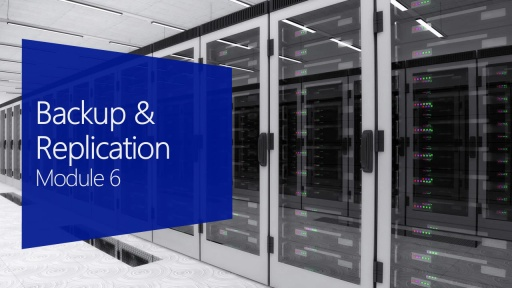 Backup and Replication with Hyper-V & Managing Hyper-V with System Center 2012 Virtual Machine Manager