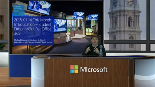2016-01-14 This Month In Education: Student Drop In Drop Out For Office 365