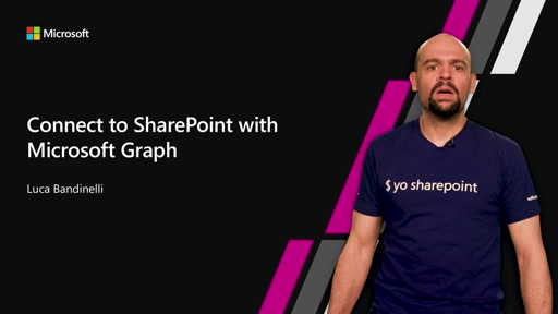 Connect to SharePoint with Microsoft Graph