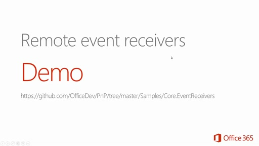 How to use remote event receivers for your SharePoint add-ins