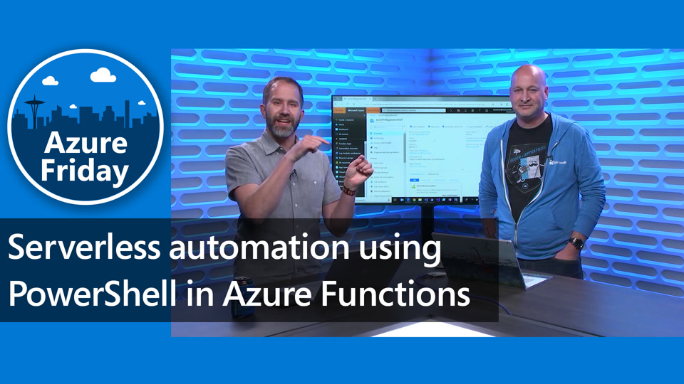 Serverless automation using PowerShell in Azure Functions