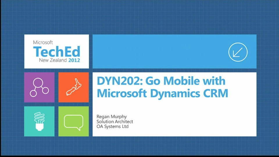 Go Mobile with Microsoft Dynamics CRM