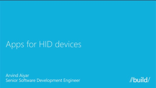 Apps for HID Devices