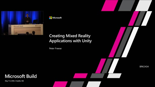 Building Mixed reality with the new capabilities in Unity