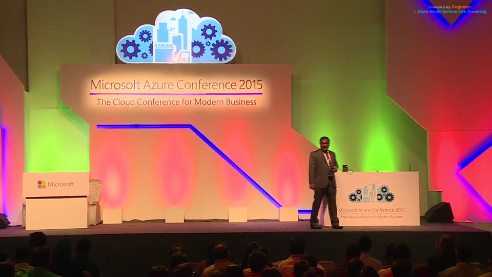 keynote session at microsoft azure conference 2015