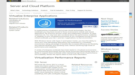 TechNet Radio: Virtualization and Cloud Experts Café - What's New in Windows Server 2012